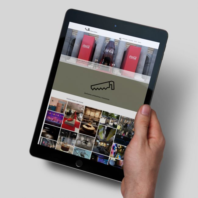 Desarrollo nueva web Iniciativas y Exposiciones