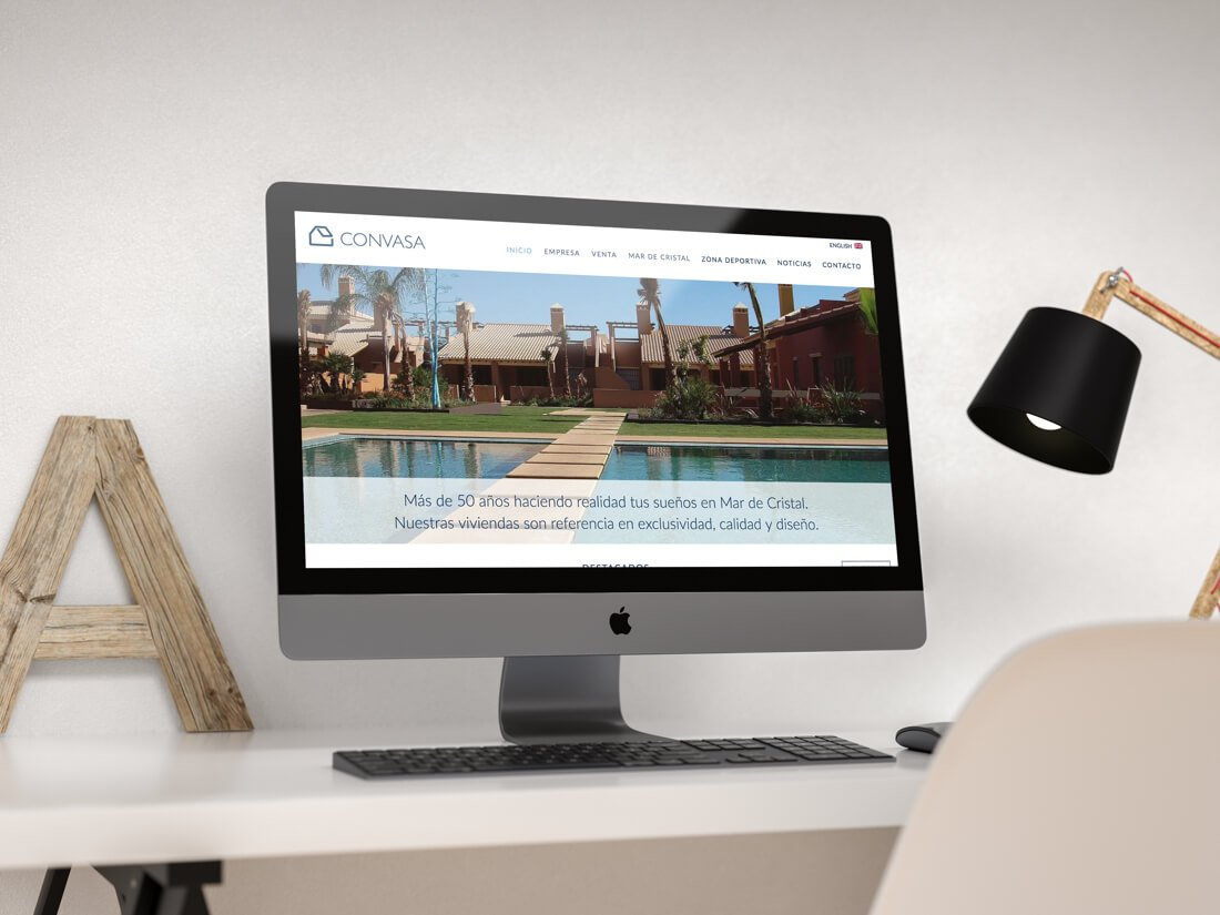 Diseño y desarrollo de la web de Convasa