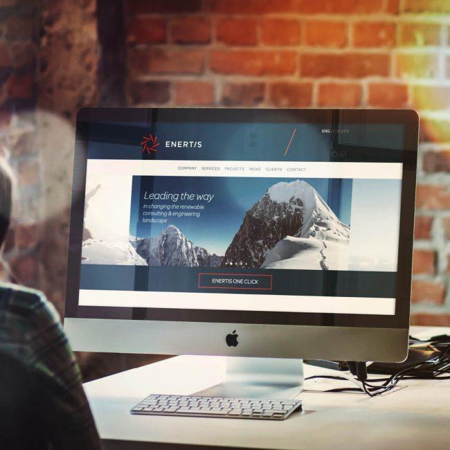 Enertis desarrollo web