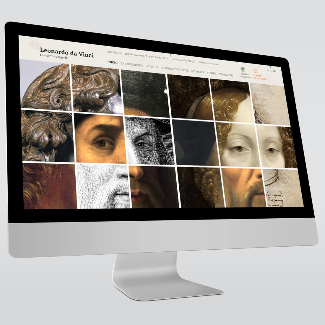 Exposición Leonardo da Vinci en Madrid