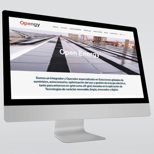 Opengy desarrollo web