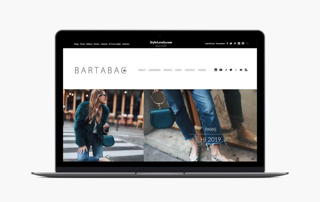 Desarrollo web StyleLovely Bartabac
