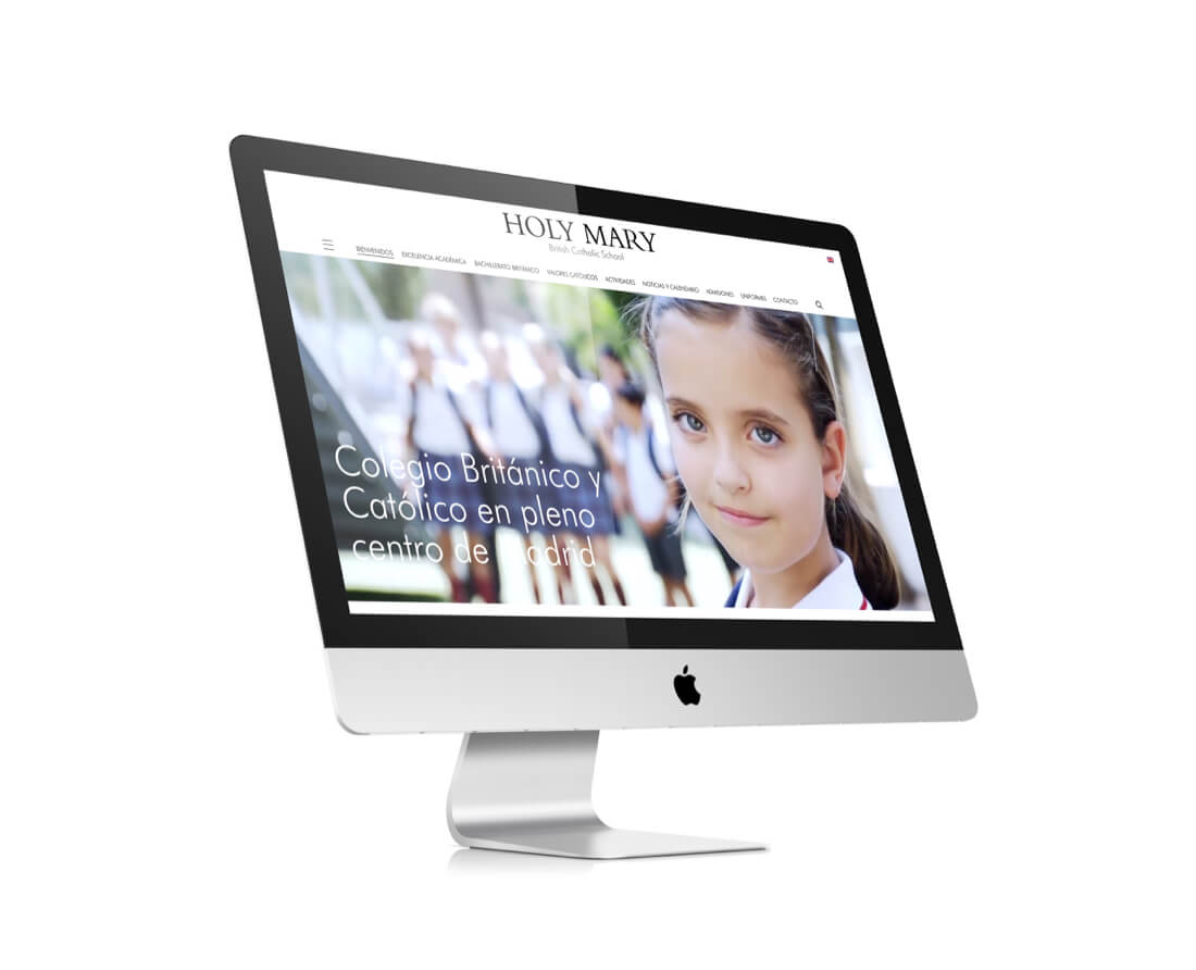 Nueva web de Holy Mary Catholic School